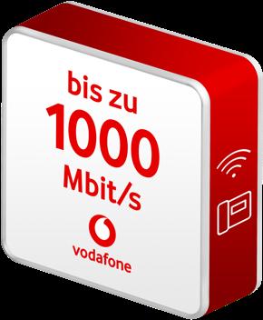1 Gigabit – Highspeed-Power im Kabel-Glasfasernetz von Vodafone